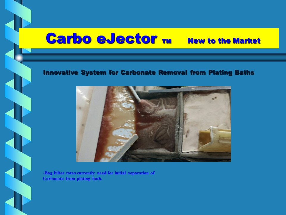 Carbo Ejector Carbonate Removal System